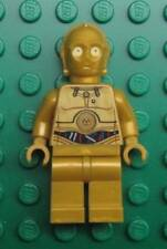 LEGO C-3PO MINIFIG FIGURE 9490 10236 Colorful Wires Pattern guy STAR WARS C3PO