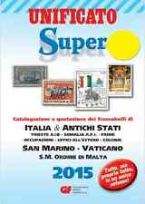CATALOGO FRANCOBOLLI STAMPS CATALOGUE 2015 ITALIA-SAN MARINO-COLONIE-VATICANO