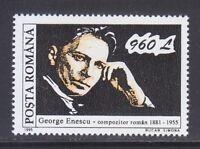 Romania 1995 MNH Sc 3997 Mi 5083 Georges Enescu, composer **