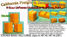 California Freight STACKED BOXES-TALL/LARGE (3pcs) N/1:160