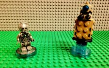 Lego Dimensions Doctor Who Fun Pack 71238 Cyberman Dalek 100% Complete!
