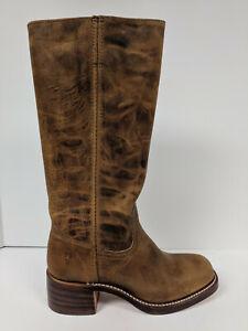 FRYE Campus 14L Tall Fashion Boot, Dark Brown, Womens 6 M