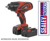 """Sealey CP3005 18v 1/2"""" Sq Dr Cordless Impact Wrench/Ratchet + 2 Batteries & Case"""