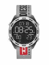 Diesel Uhr Herrenuhr Textil Datum Grau DZ1894