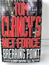 Tom Clancy, Steve Pieczenik  NET FORCE BREAKING POINT    PAPERBACK