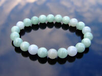 Canadian Jade Natural Gemstone Bracelet 6-9'' Elasticated Healing Stone Chakra