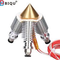 BIQU Diamond Extruder Reprap Hotend V6 Heatsink 3 IN 1 OUT Multi Nozzle Extruder