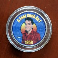 United States - Elvis Presley Music, A Fool Such As I 1959 - Quarter Coin