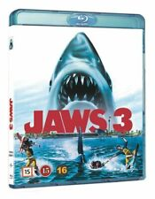 JAWS 3 (1983) 3D + 2D Blu-Ray Import BRAND NEW Free Ship