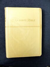 French Bible LARGE PRINT Compact, Louis Segond 1910, Imitation Leather, Ivory