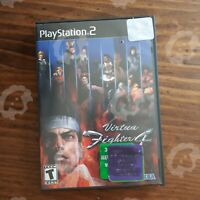Virtua Fighter 4 (  Playstation 2 PS2 )  Tested and Working