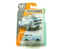 Matchbox Volkswagen Transporter Cab Blue 95/125 1 64 Scale Long Card Sealed