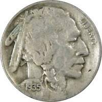 1935 D Indian Head Buffalo Nickel 5 Cent Piece VF Very Fine 5c US Coin
