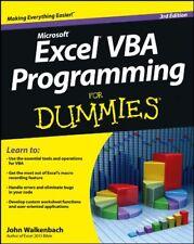Excel VBA Programming For Dummies,John Walkenbach- 9781118490372