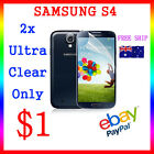 LCD HQ Ultra Clear Screen Film Display Protector Samsung Galaxy S4 Au Post