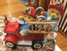"Cherished Teddies "" Hold On For The Ride Of Your Life "" Dustan & Austin"