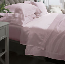 Jasmine Silk Pure Silk Flat Sheet (Pink) - DOUBLE