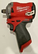 MILWAUKEE M12 12V LI-ION IMPACT WRENCH WITH 2x BATTERIES AND CHARGER M12 FIWF12