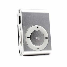 32GB Support Mini Clip Metal USB MP3 Player Micro SD TF Card Music Media Gift