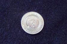 TWENTY FIVE (25) CENT GAMING TOKEN - MGM GRAND CASINO DETROIT MICHIGAN LION LOGO