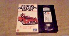 FERRIS BUELLER'S DAY OFF UK PAL VHS VIDEO 1999 John Hughes Matthew Broderick