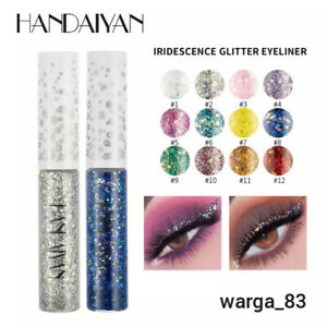 06 Colours Liquid Glitter Eyeshadow Pencil Eye Makeup Glitter Shimmer Eye Shadow