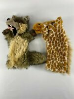 Fox & giraffe Glove Puppet by The Puppet Company free delivery