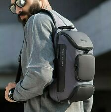 Men's Anti-theft Chest Sling Bag Casual Backpack Crossbody Shoulder Daypack Bags