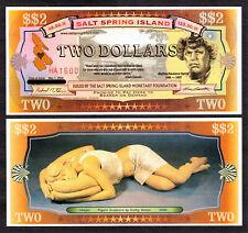Salt Spring Island (Canada) 2008 Two Dollar UNC