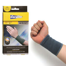 2 Wrist Brace Elastic Support Band Hand Forearm Sleeve Arthritis Tennis Gym New