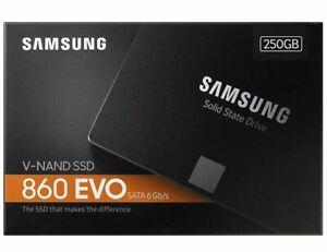 """Samsung 860 EVO 250GB/500GB/1TB Internal SSD 2.5"""" SATA III Solid State Drive-UK"""