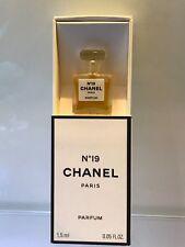 Rara Vintage Chanel Parfum Perfume Extrait concentrado No 19 Micro Botella 1.5ml