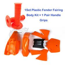 Plastic Fairing Fender Kits Grips For KTM 50 KTM50 SX Junior 50cc Mini Adventure