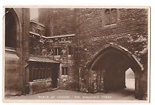 RPPC TUCK'S JEWEL HOUSE Regalia  Wakefield Tower London England Postcard