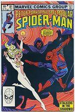 SPECTACULAR SPIDER-MAN #81 Aug 1983 NM 9.4 W CLOAK & DAGGER Cover PUNISHER App