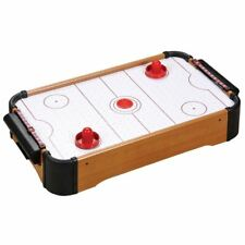 BABY TABLE TOP MINI AIR HOCKEY TABLE PUSHERS PUCKS TOY FAMILY GAME XMAS GIFT