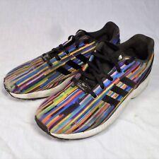 Adidas ZX Flux Torsion Shoes Rainbow Prism 6.5 Sneakers