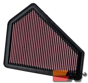 K&N Replacement Air Filter For CADILLAC CTS/CTS-V 3.6L-V6 2008-2012 33-2411