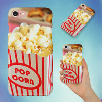FOOD SNACK POPCORN MOVIE THEATER HARD BACK CASE FOR APPLE IPHONE PHONE