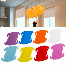30Pcs IQ lamp DIY Puzzle Light chandelier Modern lampshade Ceiling LED