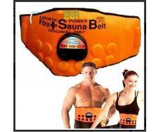 3 in 1 Sauna Belt - Magnetic + Vibrate + Sauna Belt Fat Cutter Length 48 Inch A1
