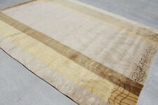 RSG121 Gorgeous Neutral Color Hand Crafted Tibetan Area Rug 8'X10' made in Nepal