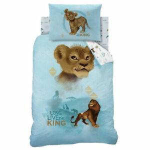 Disney The Lion King Duvet Quilt Cover Pillowcase Set Single Bedding Bedsheets