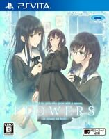 Prototype Flowers Le Volume sur Hiver PS Vita SONY Playstation JAPANESE VERSION