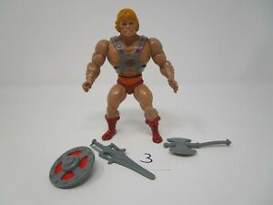 He-Man 1981 MASTERS OF THE UNIVERSE MOTU 100% Complete Vintage #3 Taiwan