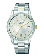 CITIZEN EV0044-58A Ladies Crystal Watch WR50m NEW RRP $249.00