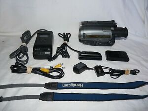 Sony CCD-TR96 8mm Video8 camera Camcorder VCR Player Video Transfer