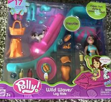 Polly Pocket Wild Waves Log Ride  17 Fashions and Accessories Brand New