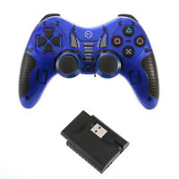 Dual Wireless 2.4G USB Game pad Controller Joystick for PS2 PS3 Smart TV Box PC