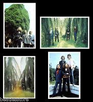 Beatles 1969 last photo session, 4 rare real photographs, Set 2, John Lennon